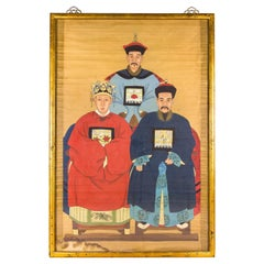 Chinese Ancestral Portrait, 19th Century, China