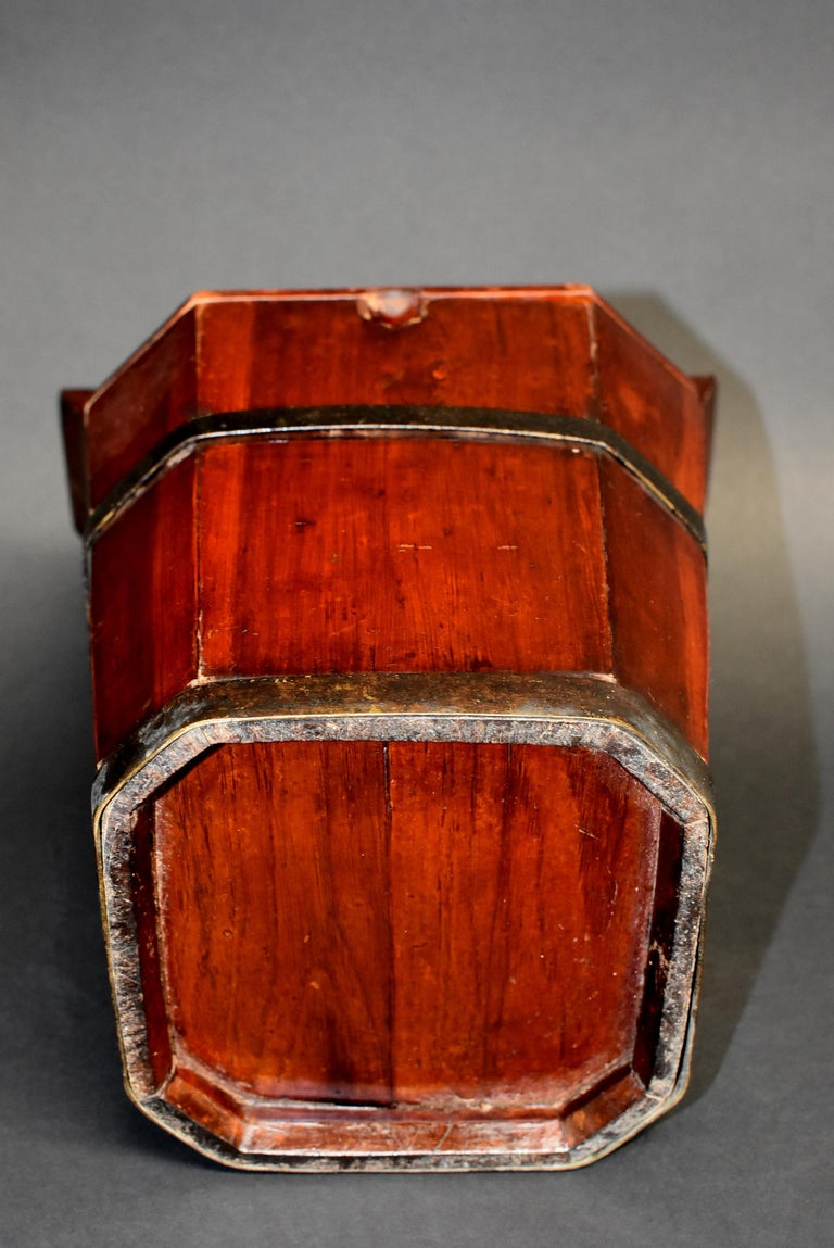 Chinese Antique Tea Basket For Sale 9