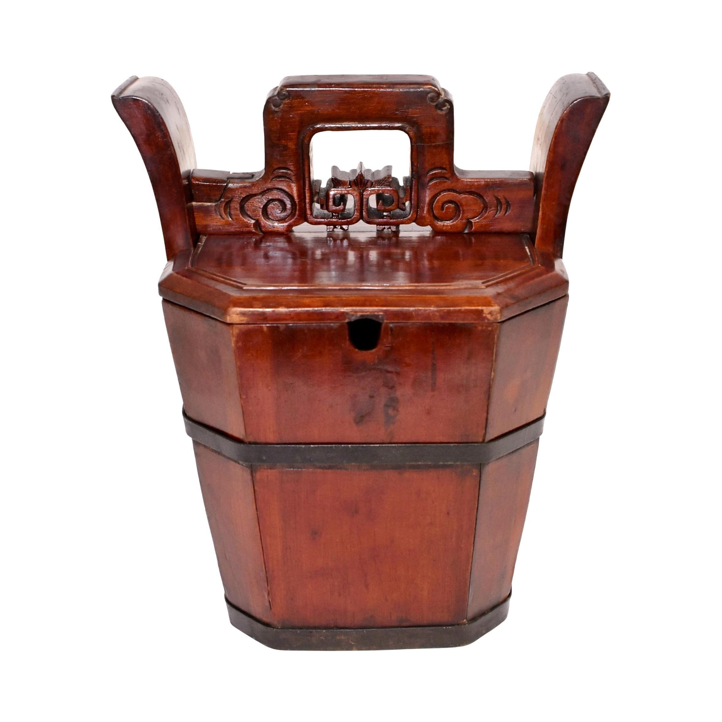 Chinese Antique Tea Basket