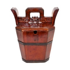 Chinese Antique Tea Basket