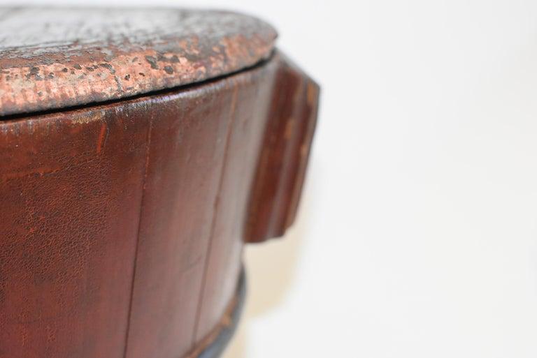 Chinese Antique Wedding Basket Bucket Yin Yang Motif For Sale 6
