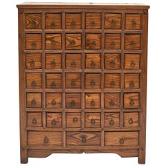 Chinese Apothecary Medicine Chest with 39 Drawers