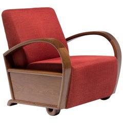 Chinese Art Deco Club Chair, circa 1920s-1930s