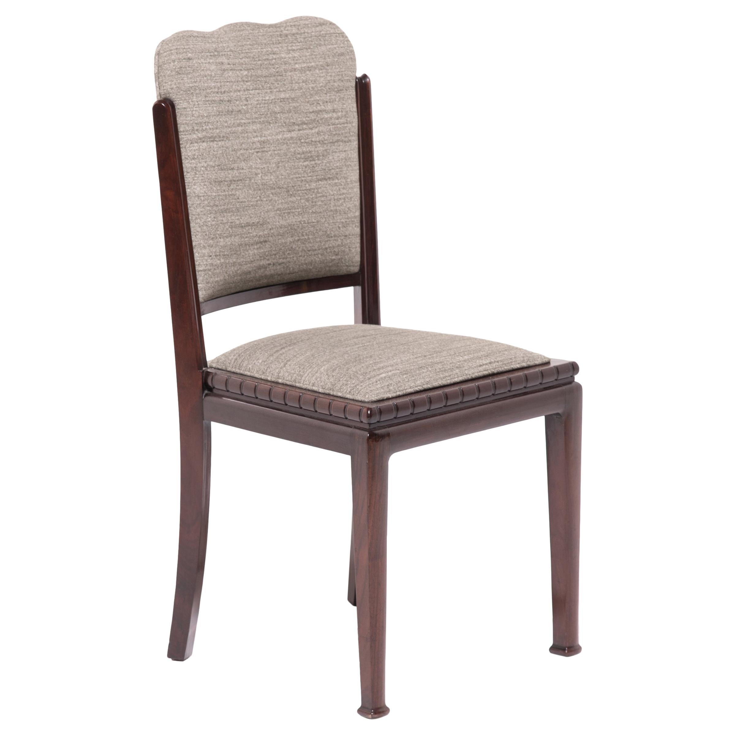 Chinese Art Deco Dining Chair, circa 1920-1930s
