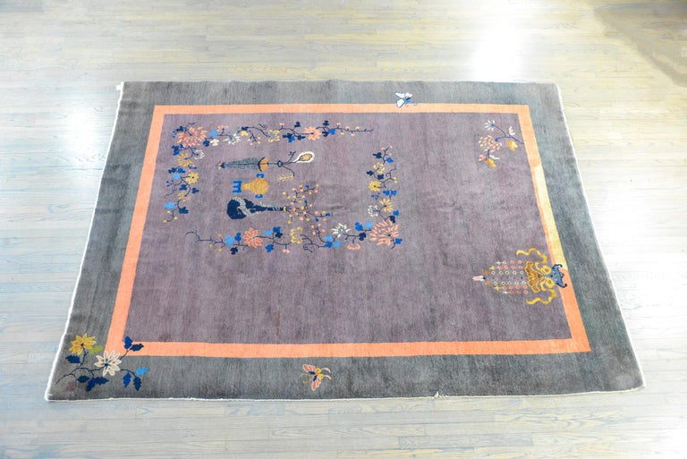 Chinese Art Deco Rug For Sale 4