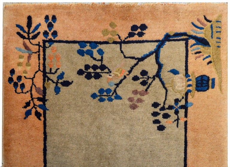 Chinese Art Deco Rug For Sale 1