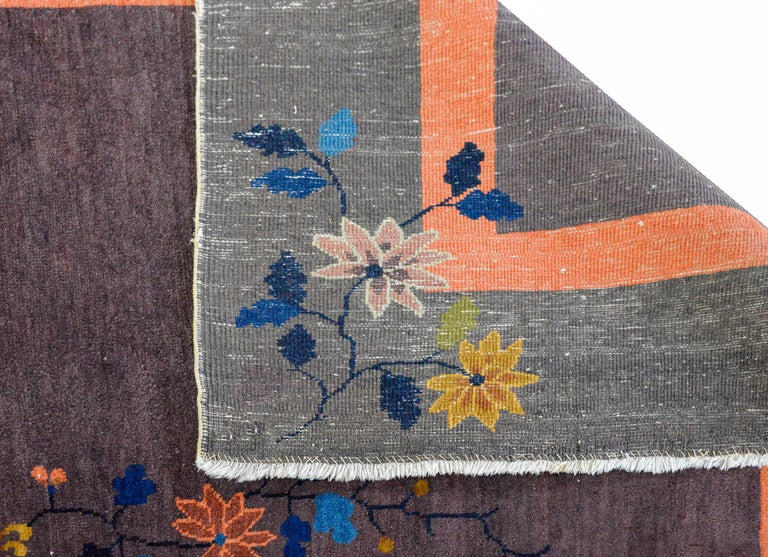 Chinese Art Deco Rug For Sale 3