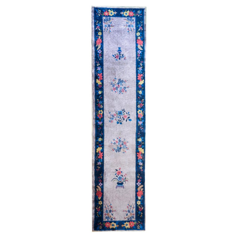Chinese Art Deco Runner For Sale