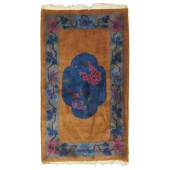 Chinese Art Deco Scatter Rug