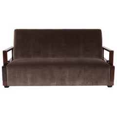 Chinese Art Deco Sofa