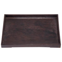 Chinese Blackwood Tea Tray, circa 1850