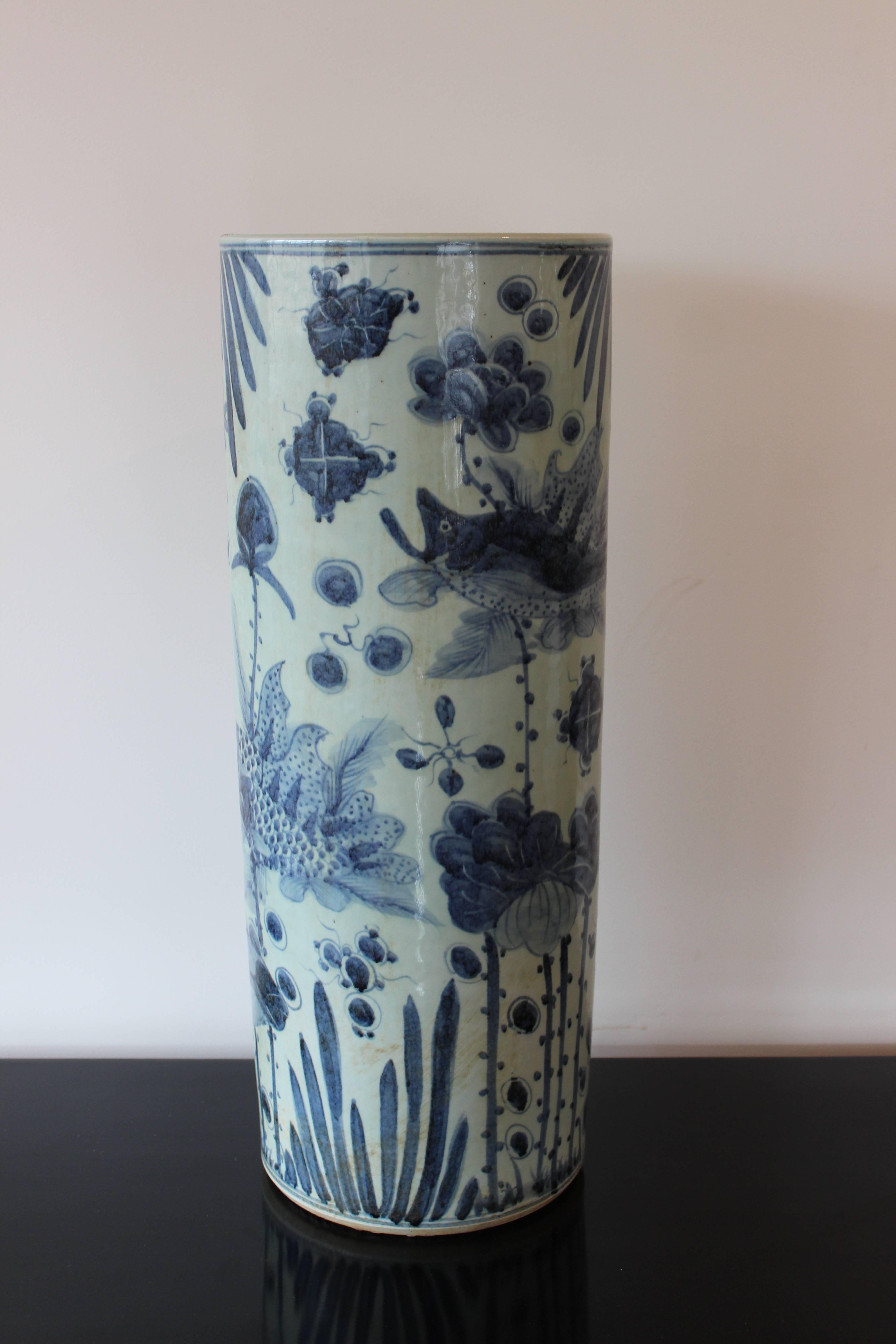 ceramic umbrella stand vase - vase and cellar image avorcor Ceramic Umbrella Holder