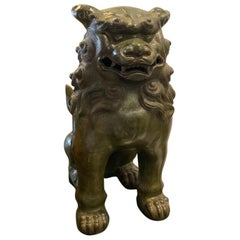 Chinese Bronze Foo Dog