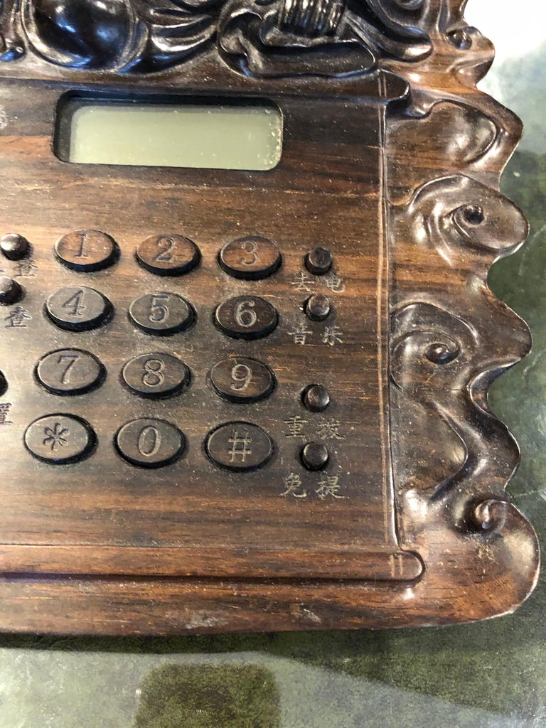 Chinese Buddha Telephone In Good Condition For Sale In Sarasota, FL