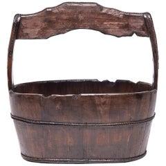Chinese Burden Bucket, circa 1850