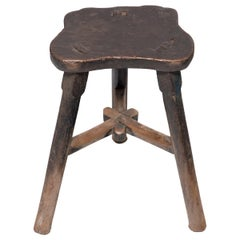Chinese Butterfly Shadow Stool, circa 1900