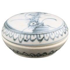 Chinese Ca Mau Shipwreck Pot & Lid, 18th Century