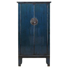 Chinese Cabinet with a Pair of Doors and Restoration