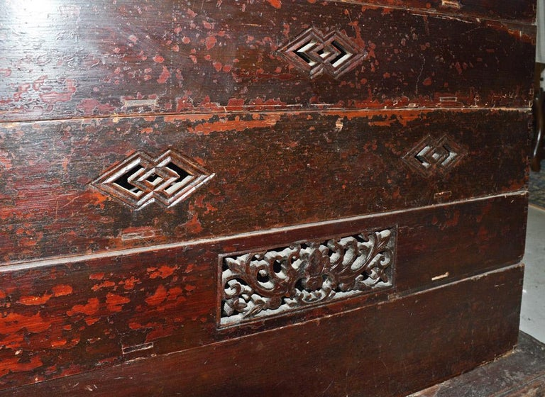 Wood Chinese Carriage Box For Sale