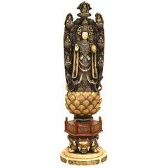 Chinese Carved Bone Figure of Buddha