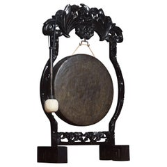 Chinese Carved Dinner Gong