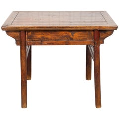 Chinese Carved Hardwood Altar Table or Desk