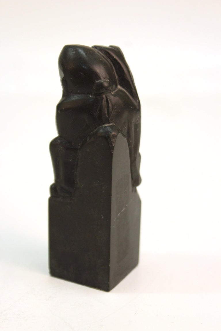 Chinese Carved Soap Stone Figurines For Sale 4