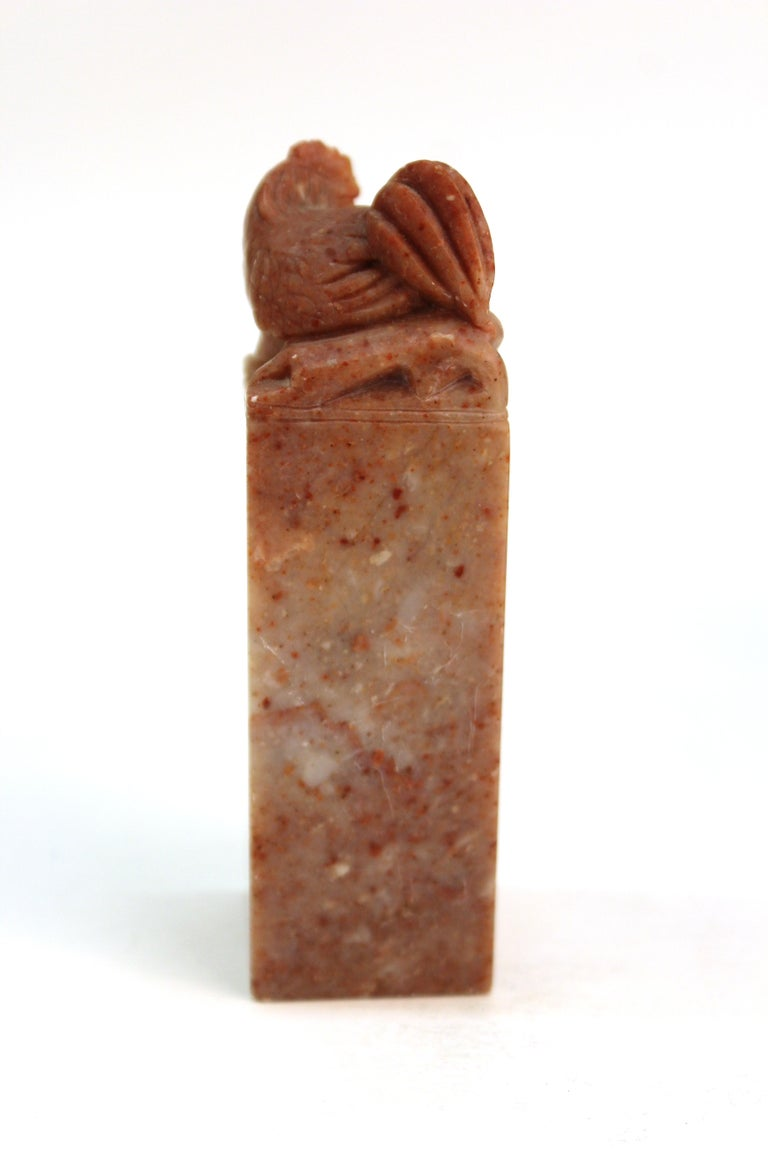 Chinese Carved Soap Stone Figurines For Sale 12