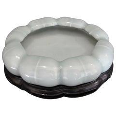 Chinese Celadon Glazed Porcelain Brush Washer