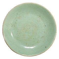 Chinese Celadon Plate, circa 1900