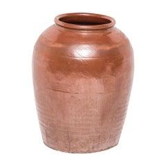 Chinese Ceramic Glazed Urn