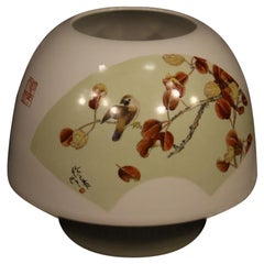 Chinese Ceramic Vase Painted with Floral Decorations, 21st Century
