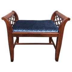 Chinese Chippendale Style Bench