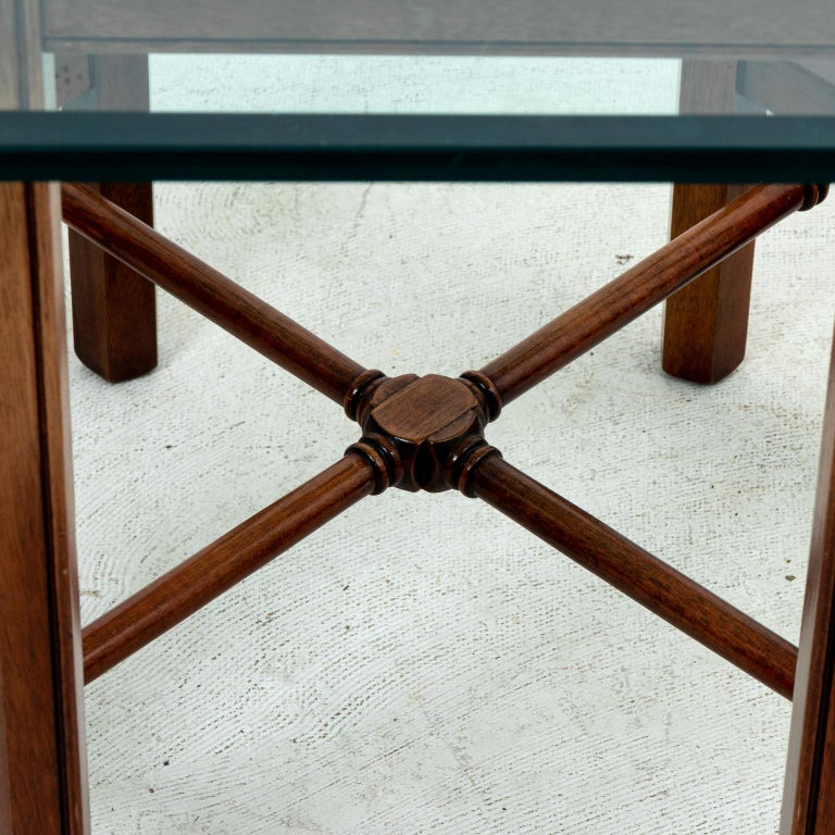 20th Century Chinese Chippendale Style Center Table