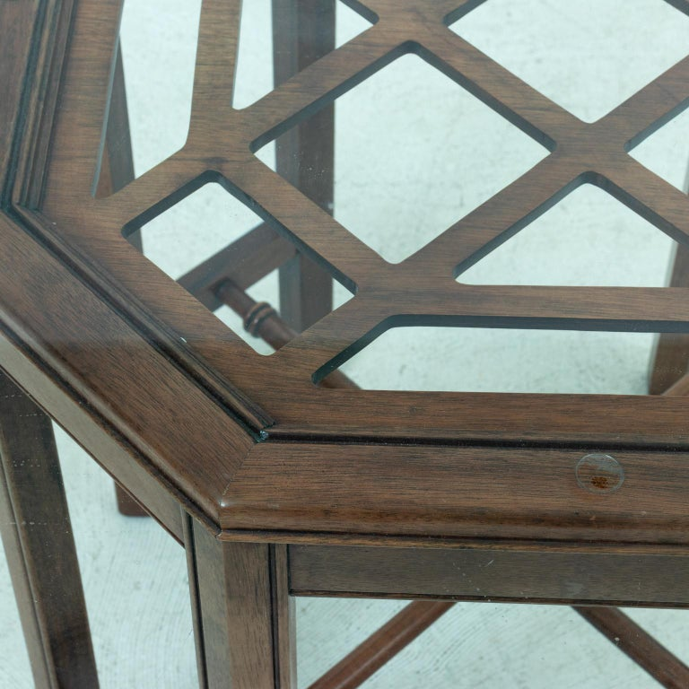 Chinese Chippendale Style Center Table 2
