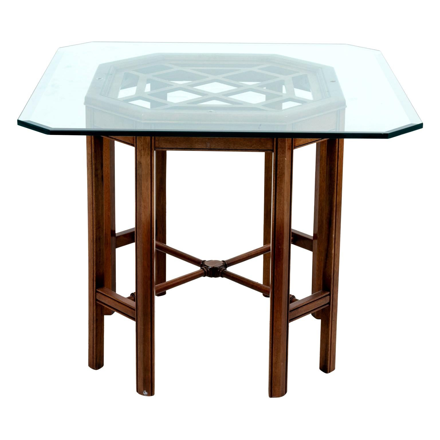 Chinese Chippendale Style Center Table