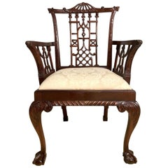 Chinese Chippendale Style Chair