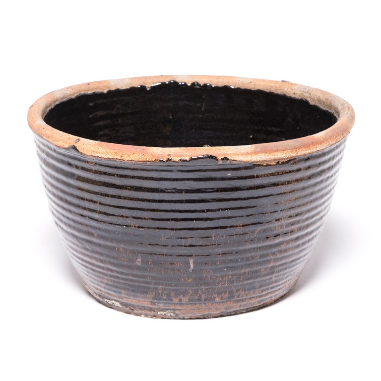 Rustic Chinese Coil Pickling Pot For Sale