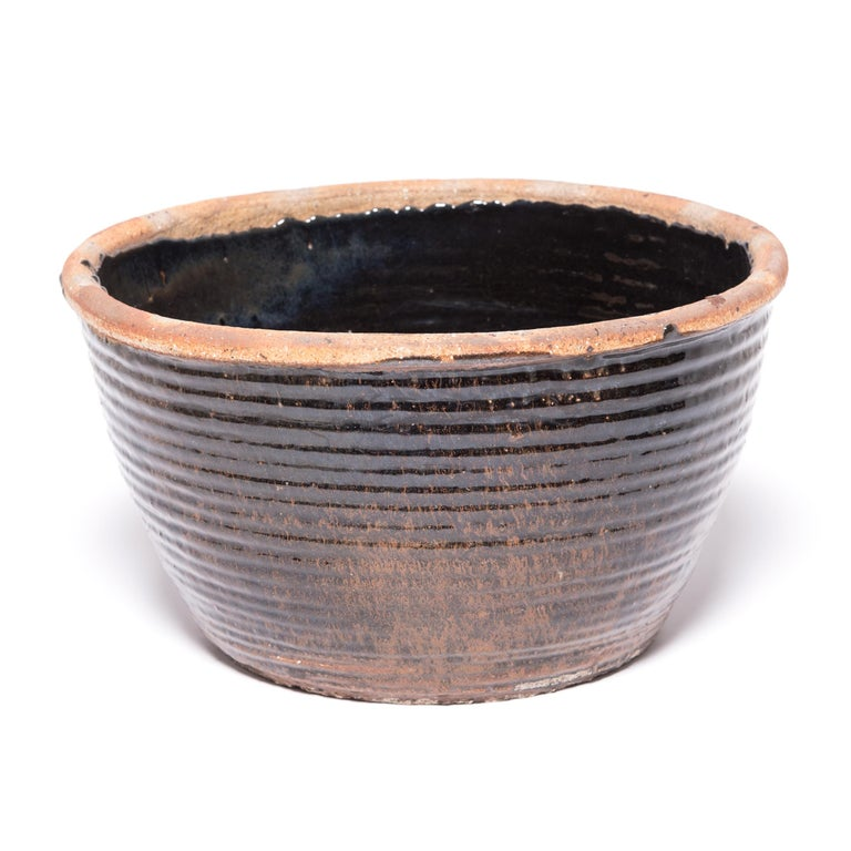 Glazed Chinese Coil Pickling Pot For Sale