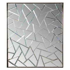 Chinese Cracked Ice Mirror