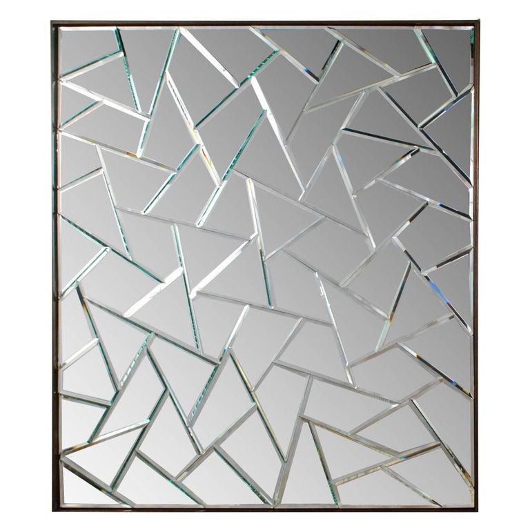 Chinese Cracked Ice Mirror