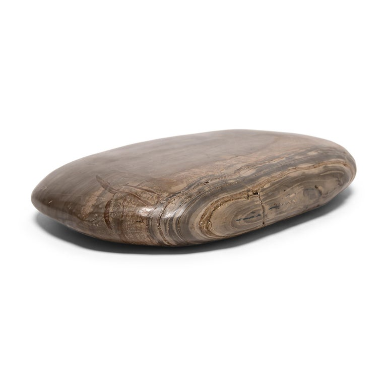 Contemporary Chinese Desert Meditation Stone For Sale