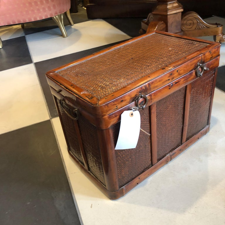 Hand-Crafted Chinese Document Box For Sale