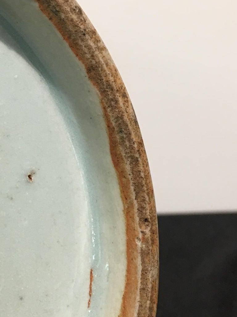 Chinese Eel Skin Glazed Stick Neck Vase, Qing Dynasty, 18th Century, China For Sale 5