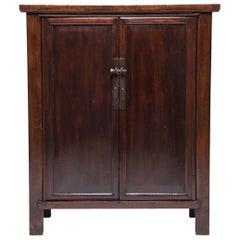 Chinese Elm Two-Door Cabinet