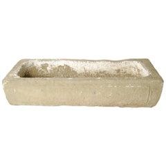 Chinese Etched Limestone Trough, circa 1800