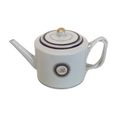 Chinese Export Blanc Porcelain Teapot