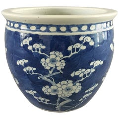 Chinese Export Blue and White Jardiniere