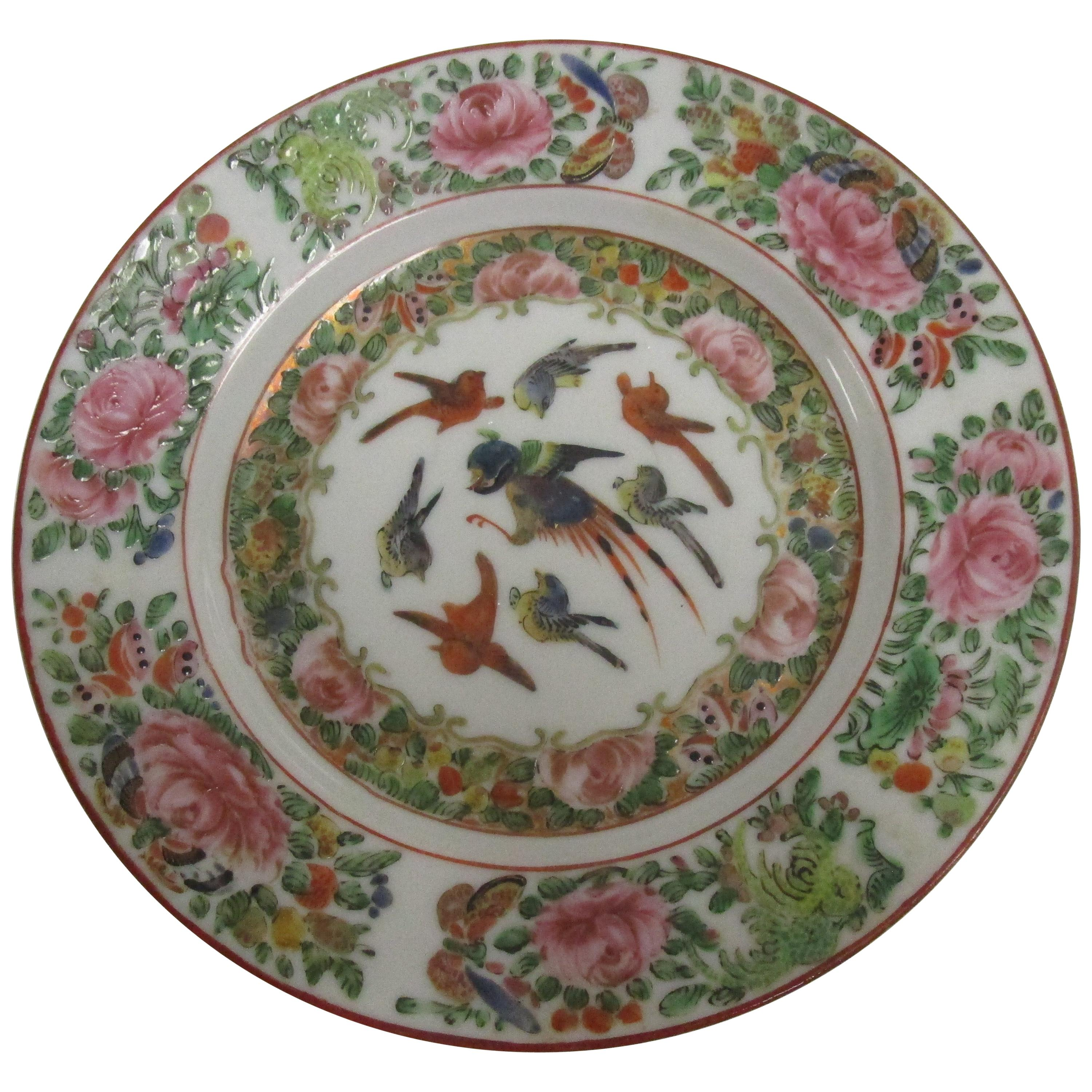 Chinese Export Famille Rose, circa 1820