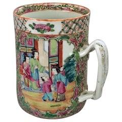 Chinese Export Famille Rose Mug, circa 1850